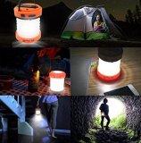 Thorfire LEDの再充電可能なキャンプのランタンの手動クランクUSB