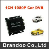 1つのチャネル1080P完全なHD移動式DVRサポート128GB SDカード