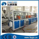 Ligne de profil de l'extrusion Line/PVC de profil de guichet de PVC Sjz-65/132