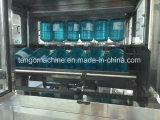 Barril de agua de 5 galones extractor Brusher exterior lavado Llenado del Empaquetador de limitación de la máquina de etiquetado