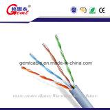 O preço de fábrica UTP da qualidade superior Cat5e descobre os cabos de cobre da coligação
