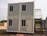 Chambre pliable préfabriquée dépensable installée facile de conteneur à vendre
