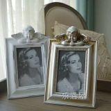 Polyresin 유럽 사진 프레임 결혼식을%s 고아한 액자