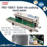 Frd1000II Solid-Ink continuo de la fecha de la banda de codificación de sellador para detergente