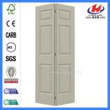 As portas do armário Bifold pinheiros porta rebatível Bi UK PVC grande recolhimento Bi 6 portas de painel