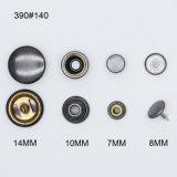 O logotipo personalizado Metal impressão Pressione botão de encaixe