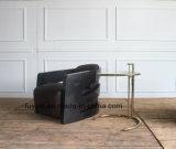 탄소 섬유 Armframe 포도 수확 가죽 여가 의자