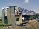 Schneller Aufbau-Stahlkonstruktion-Entwurf vorfabriziertes Speicher-Beweglich-Haus