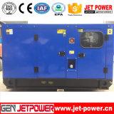 Электрический тепловозный порошок генератора генератора 100kVA звукоизоляционный тепловозный Perkins