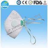 Nonwoven remplaçable masque protecteur médical de 3 plis avec la relation étroite en fonction
