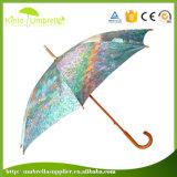 Garden Umbrella Customized Cartoon heißes des Verkaufs-23 des Zoll-J Griff-Automobil-geöffneten der Dame Regenschirm