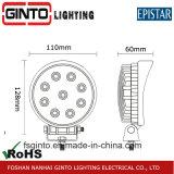 4inch Offroad Heldere LEIDENE van de Auto Licht van het Werk voor de Doorwaadbare plaats van de Bus (GT2009-27W)
