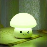 Luz de LED Mini Kids Mushroom Decoração