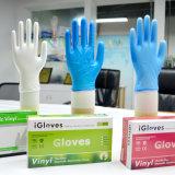 De Vinyl Goedkopere Handschoen van de Dienst van de Rang van het voedsel