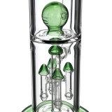 Schalthebel Tauren Glasrohr Milch-grünes Glas-rauchendes Wasser-Rohr (ES-GB-129-2)