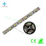 Tiras flexíveis da luz do diodo emissor de luz de Watertproor SMD5050 da cor de W/R/G/B para a decoração do hotel/mercado/quarto/aeroporto