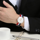 Form-kundenspezifische Uhr-Nylonbrücke-Uhrenarmband-Uhr Man72171