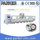 Центр CNC Parker алюминиевый подвергая механической обработке для филировать и сверлить