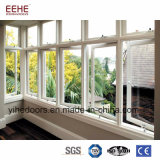 Окно алюминиевое стеклянное Windows Casement спальни