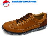 Zapatos ocasionales de la alta calidad para la PU de los hombres con la lona