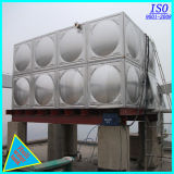 De geïsoleerdeo Tank van het Water van het Roestvrij staal van de Las van de Assemblage