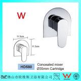 Salle de bains sanitaire de filigrane d'articles dans le mélangeur de douche de mur/robinet en laiton (HD580)
