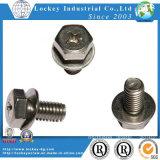 Boulon à tête hexagonale en acier inoxydable vis à tête hexagonale en acier inoxydable de la vis en acier inoxydable