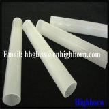 Milchiger weißer Quarz-Glas-Rohrleitung-Polierlieferant