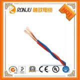 Кабель шнура питания провода 220V низких уровней сердечника кабеля 3 PVC сердечника Rvv 2 электрический изолированный PVC медный