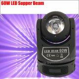 단계 Equipment LED Super Beam 60W Moving Head DJ Light