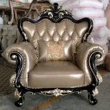 Nuevo sofá clásico del cuero del estilo para los muebles del hotel (1212)