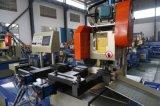 La circulaire matérielle en aluminium faite sur commande d'usine de Yj-425CNC a vu la machine de découpage