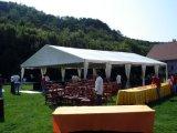 De Tent van de partij voor Weinig Partij of Partij van de Wijn