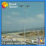 светильник сада улицы 15W-60W СИД солнечный с регулируемой панелью солнечных батарей