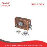 O parafuso da barra de bloqueio da Trava de noite fechadura da porta de segurança com o botão LT206