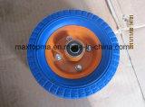 중국 250-4 PU 거품 외바퀴 손수레 바퀴