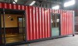 Het goedkope pre-Gemaakte het Leven van de Woningbouw van de Container van de ZonneMacht Verschepende Sta-caravan van de Container van de Cabine met de Prijs van de Badkamers