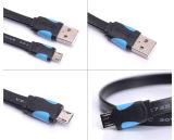 Flexible flache Mikro USB-Kabel-Universalität