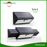 71 Luces solares LED lámpara de noche impermeable del sensor de movimiento de la pared exterior patio el Patio de iluminación LED Lámpara de jardín de la energía solar