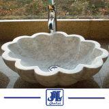 La salle de bains en marbre et granit meubles évier en pierre