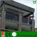 De Balustrade van het Glas van het aluminium met Roestvrij staal in China wordt gemaakt dat
