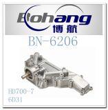 Cubierta Bn-6206 del refrigerador de petróleo de Mitsubishi HD700-7 6D31 del recambio del motor de Bonai