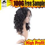 Парик волос более высокой плотности бразильский с шелком
