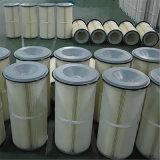 Resistencia inferior y cartucho de filtro grande del poliester del volumen de aire
