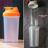nueva botella de agua de la botella de la coctelera del diseño 600ml con el interior de la funda de Disposiable (hn-sc001)