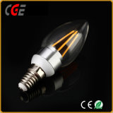 2W/4W C35/E27 Gold/Silver filamento mejor precio de la luz de lámpara LED Bombillas LED Iluminación LED