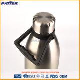 Fácil llevar la botella de agua doble del acero inoxidable de la pared