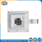 6-10W solar de cristal claro foco LED de pared para decorar