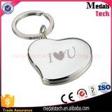 Keyring прямоугольника печатание металла высокого качества дешевый изготовленный на заказ