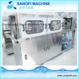 Machine de remplissage linéaire automatique de l'eau de bouteille de baril de 5 gallons